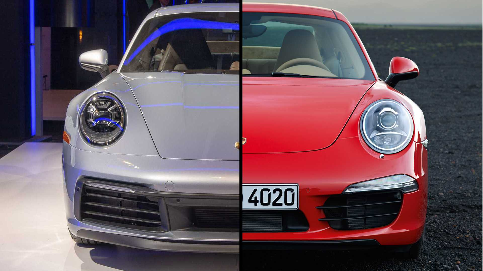 2020 Porsche 911 Carrera See The Changes Side,By,Side