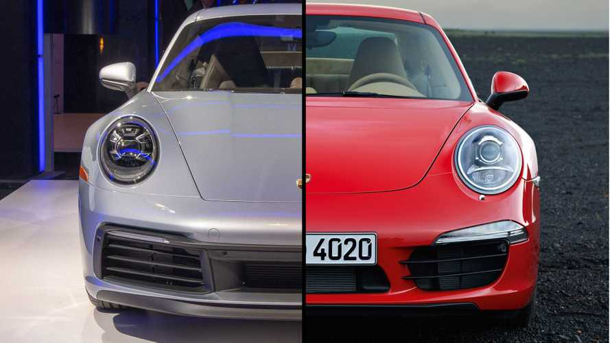 2020 Porsche 911 Carrera: See The Changes Side-By-Side