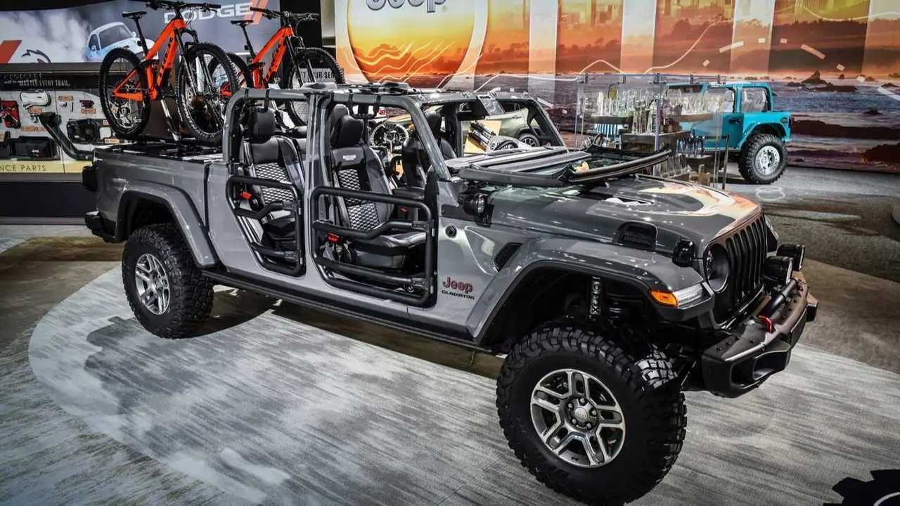 Jeep Gladiator Upgrades Already Available From Mopar
