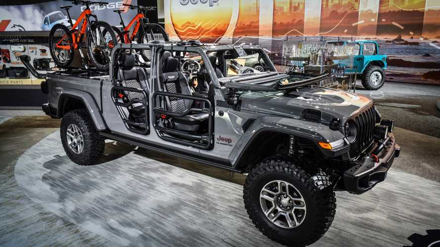 Jeep Gladiator Modified With Mopar Parts