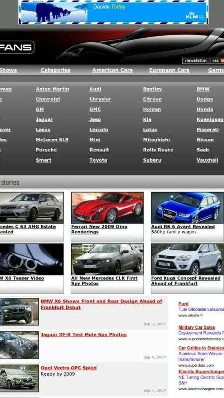 WorldCarFans Latest Changes and Upgrades