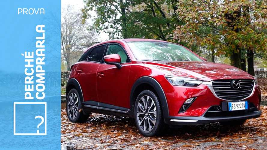 Mazda CX-3, perché comprarla… e perché no