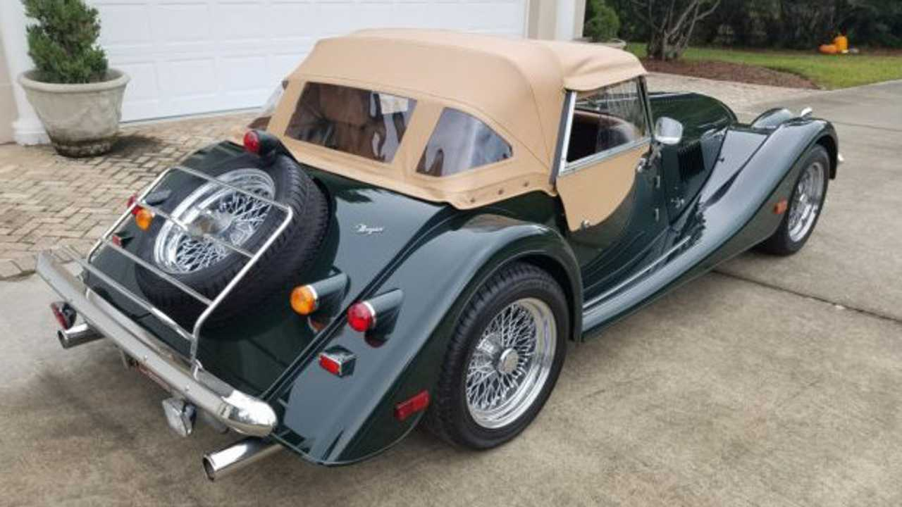 2002 Morgan Plus 8 – current bid at $35,000