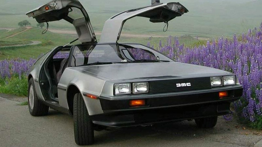 DeLorean on Its Way Back