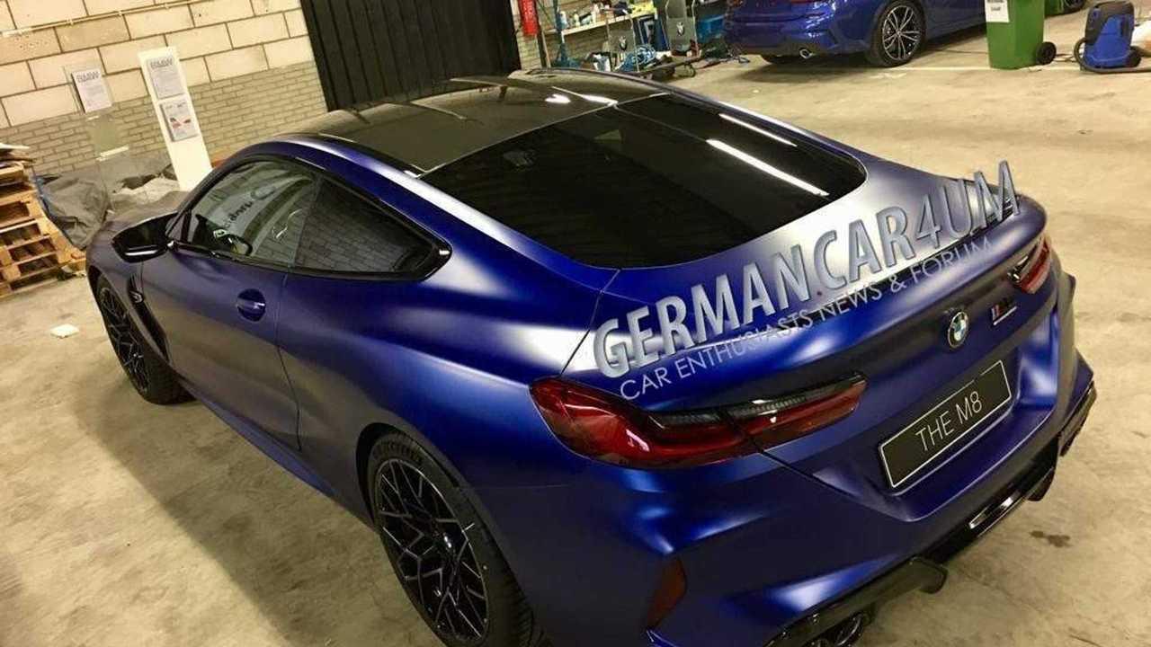 Fotos espía BMW M8 Competition 2019