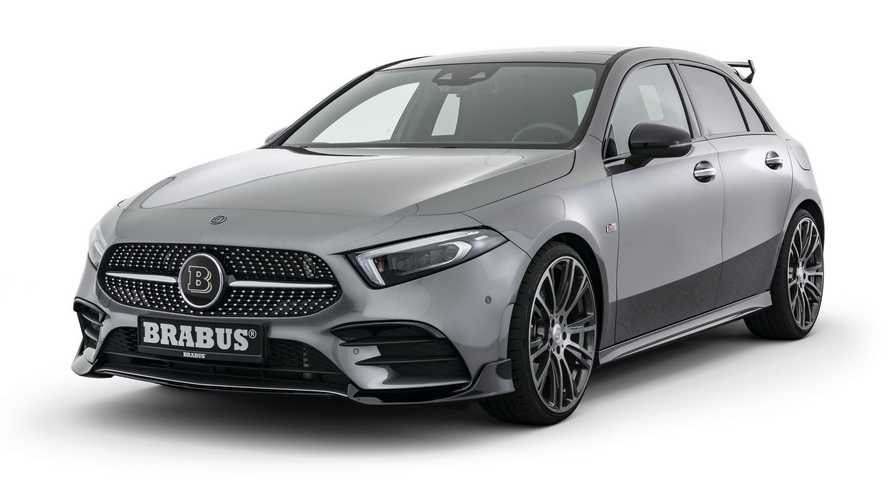 Brabus Upgrades Mercedes A-Class A250 To Hot Hatch Status
