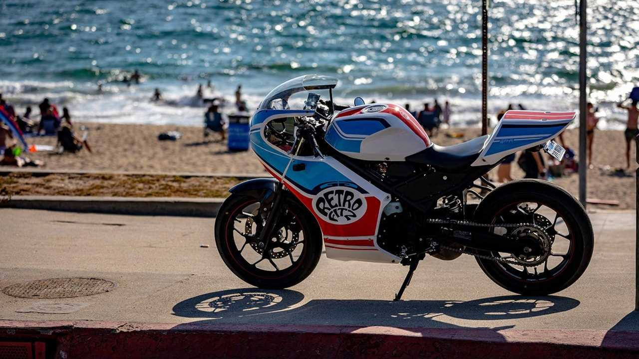 This Kit Turns A Yamaha R3 Into A Retro Cafe Racer