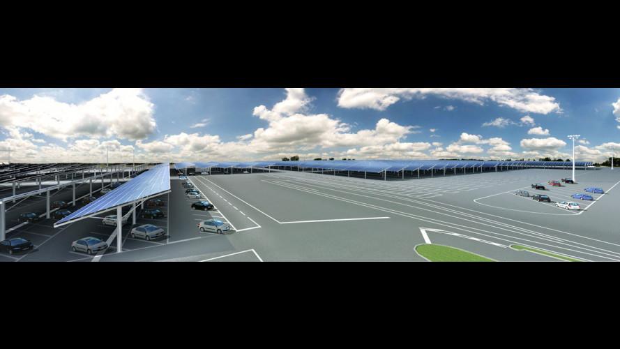 Energia dal sole per le fabbriche Renault