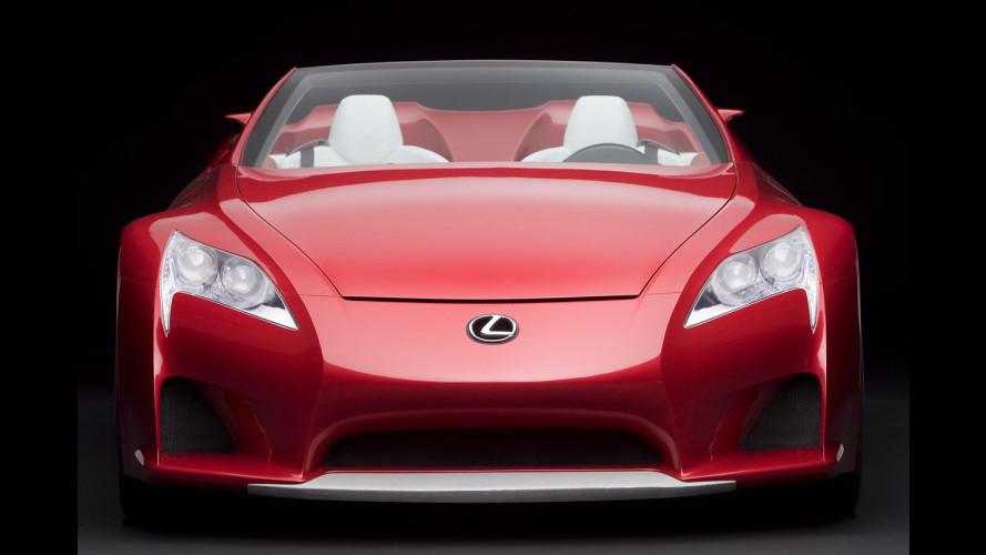 Almeno 200.000 dollari per la Lexus LF-A