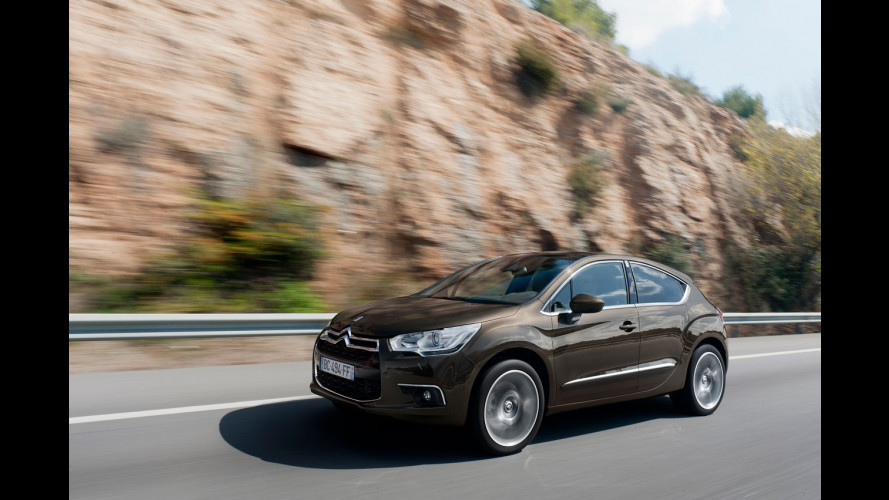 Citroen DS4, 5 porte con anima da coupé