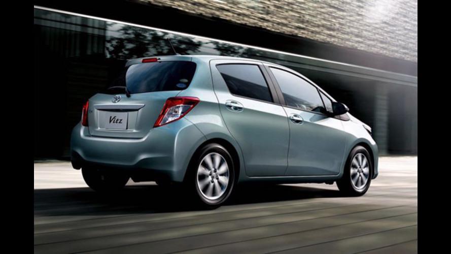 Nuova Toyota Yaris: si svela in giappone come Vitz