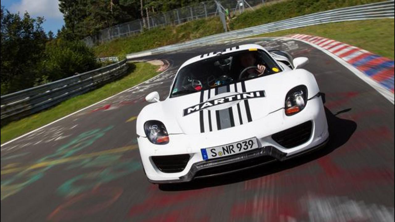 [Copertina] - Porsche 918 Spyder: 7' 14