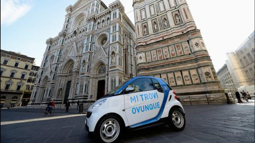 car2go arriva a Firenze