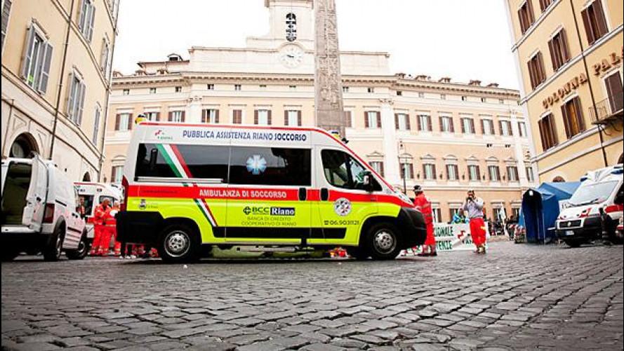 Ambulanze-Autostrade, polemiche sul telepass gratis