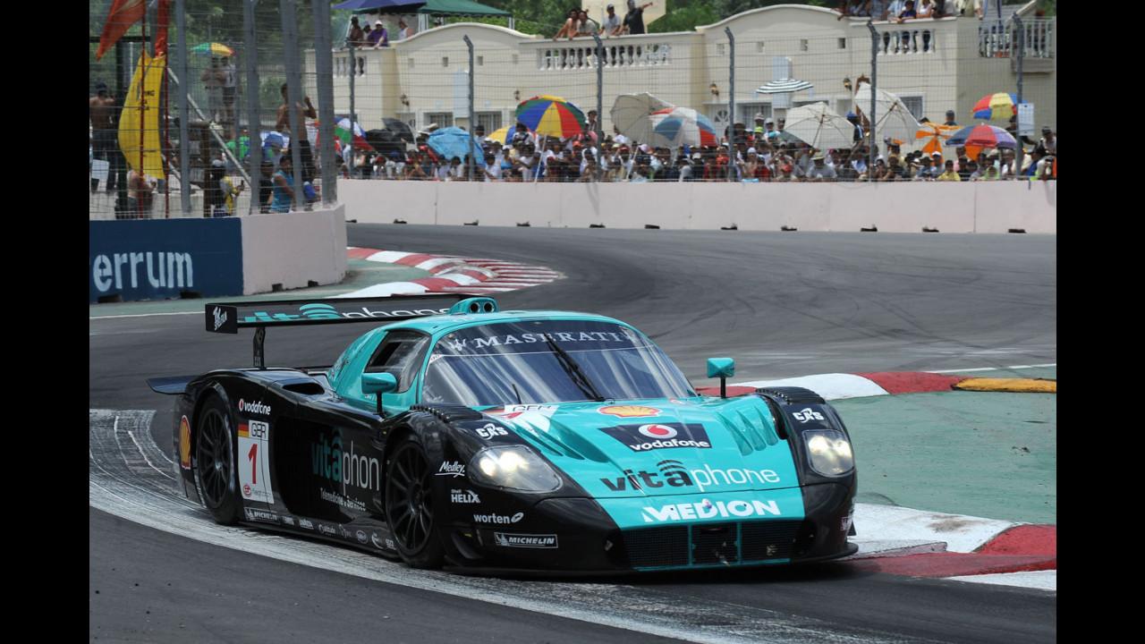 Trionfo Maserati nel Campionato Fia GT 2008