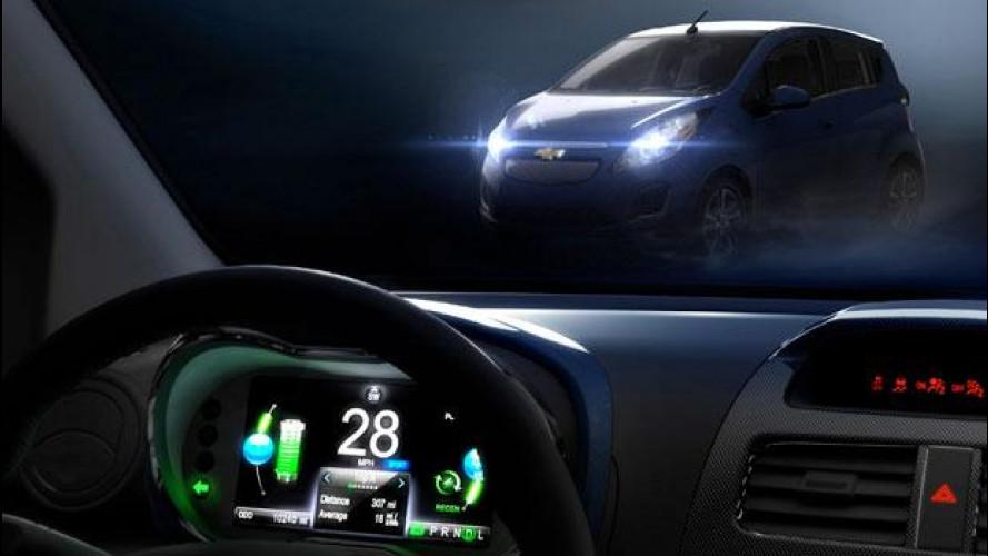 Chevrolet Spark EV, debutto a Los Angeles