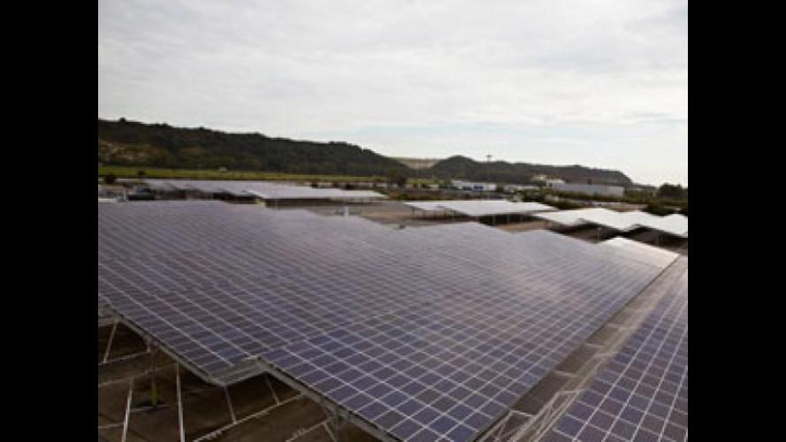 E' Renault il più grande sistema fotovoltaico mondiale nel settore auto