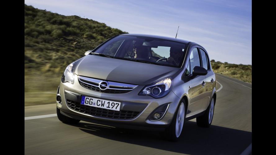 Opel Corsa restyling: i prezzi