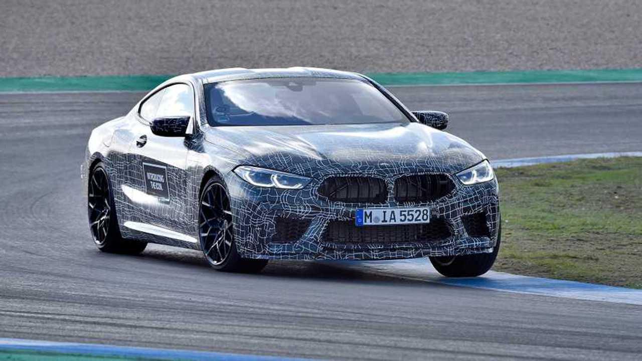 2019 BMW M8 Prototype