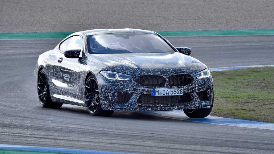 BMW M8, 600 cavalli come la M5