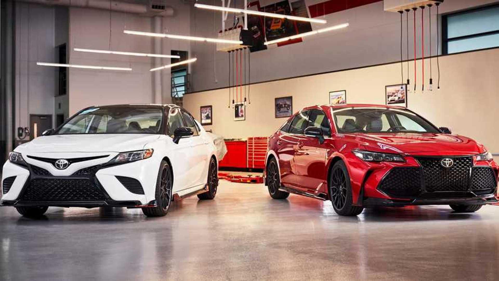 Toyota Camry, Avalon TRD Styling Tweaks Revealed In New Teaser