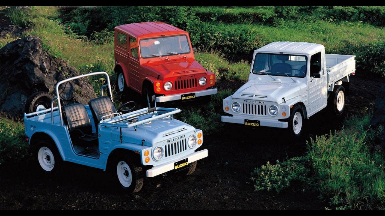 Suzuki Jimny, le foto storiche