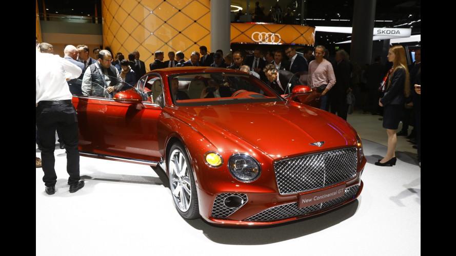 Bentley al Salone di Francoforte 2017