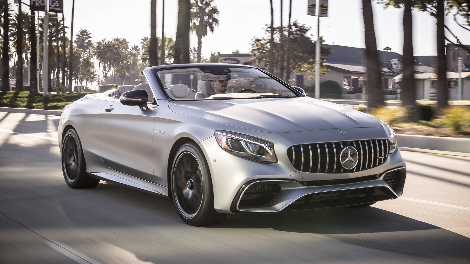 2018 mercedes amg s63 cabriolet review sunshine on fast forward