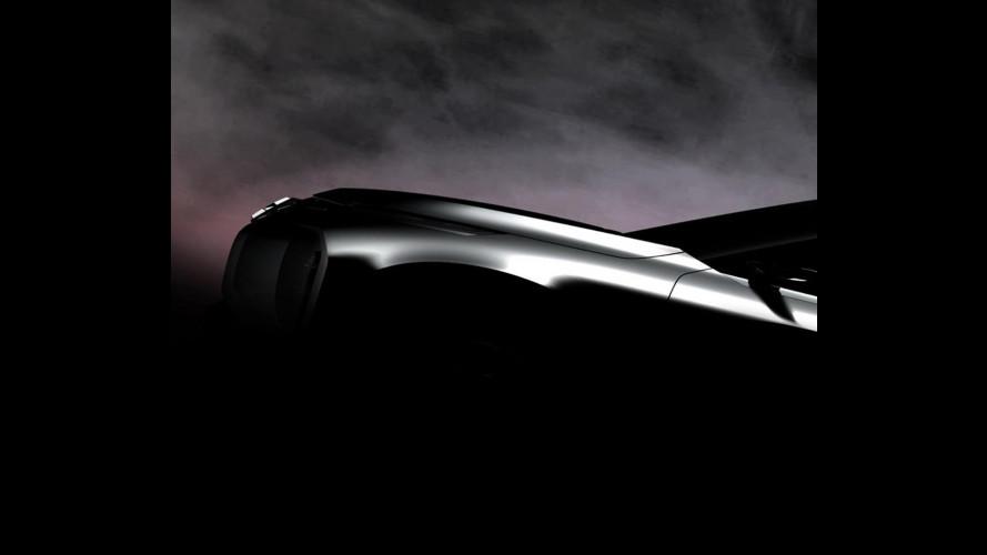Mitsubishi Ground Tourer Concept, primo teaser del maxi-SUV