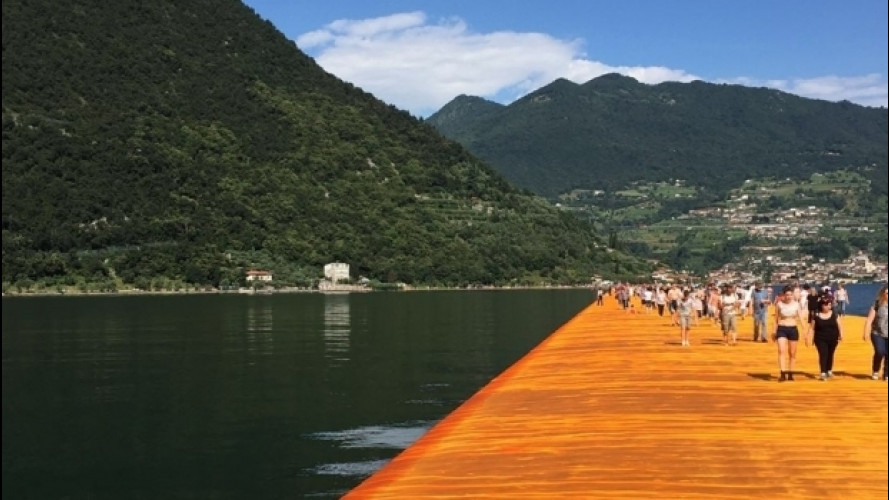 The Floating Piers, i migliori percorsi per arrivarci in auto