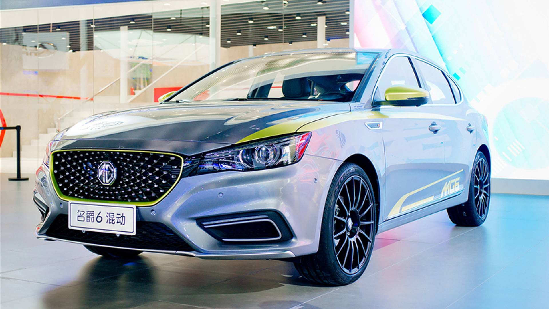 new mg6 makes chinese debut, set to come to the uk