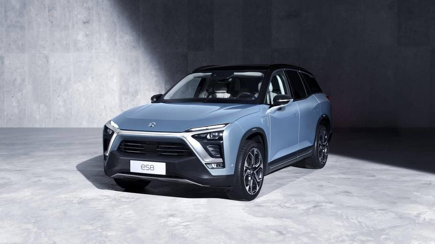 Nio ES8 - Le rival chinois du Tesla Model X