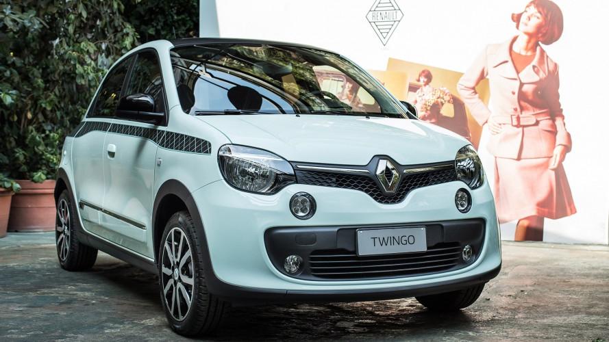 Renault Twingo La Parisienne, si veste di verde come l'R4