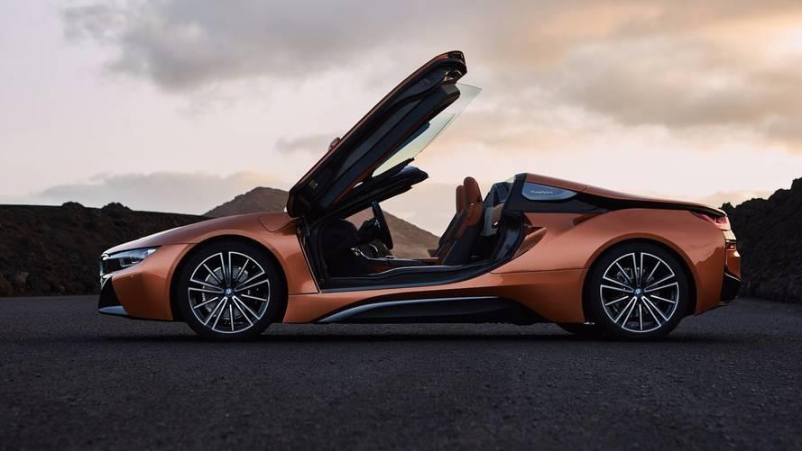 BMW i8 Roadster 2018 –hybrid sports car gets even more appeal