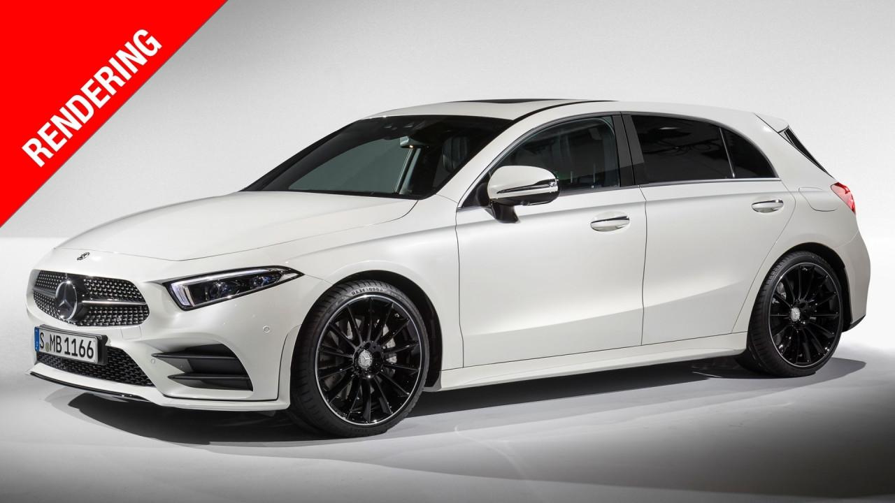 [Copertina] - Nuova Mercedes Classe A, arie da AMG GT