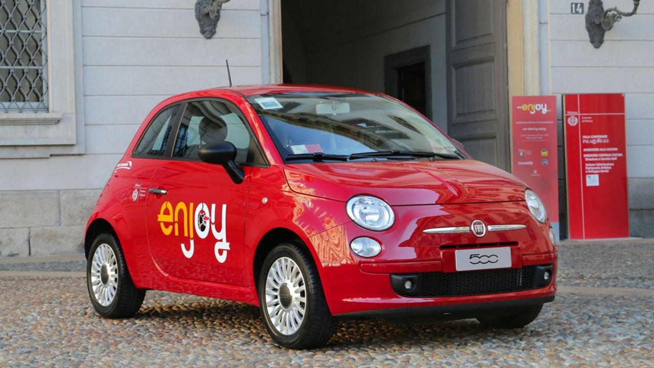 [Copertina] - Il car sharing Enjoy a Roma avrà 900 Fiat 500 rosse