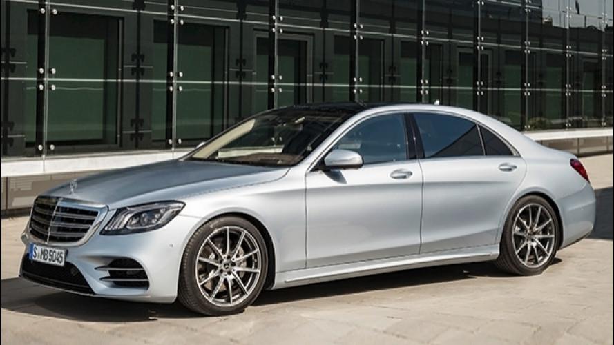[Copertina] - Mercedes Classe S restyling, tanto comfort e tecnologia