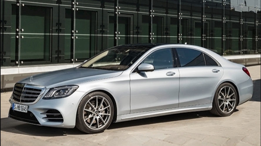 Mercedes Classe S restyling, tanto comfort e tecnologia