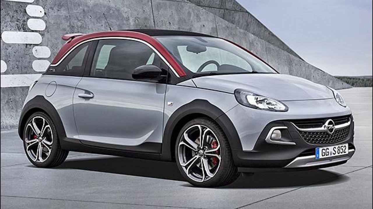 [Copertina] - Opel Adam Rocks S: un po' crossover, un po' sportiva