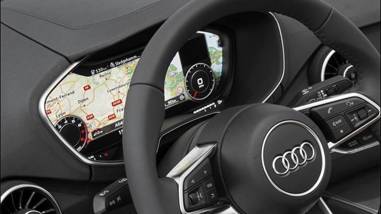 [Copertina] - Nuova Audi TT, dietro il volante un maxi-schermo