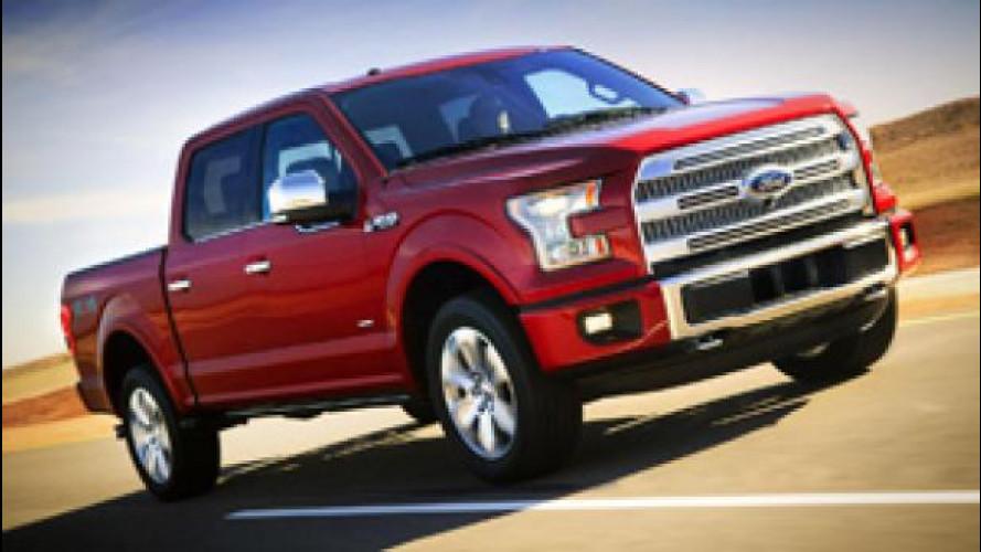 Ford presenta a Detroit il pick-up più resistente di sempre