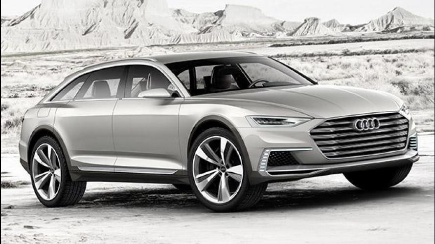 Audi prologue allroad, 734 CV di familiare rialzata