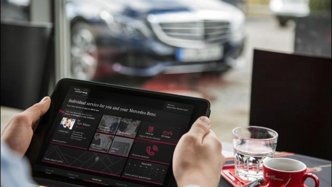 [Copertina] - Mercedes me, l'auto connessa coccola il cliente