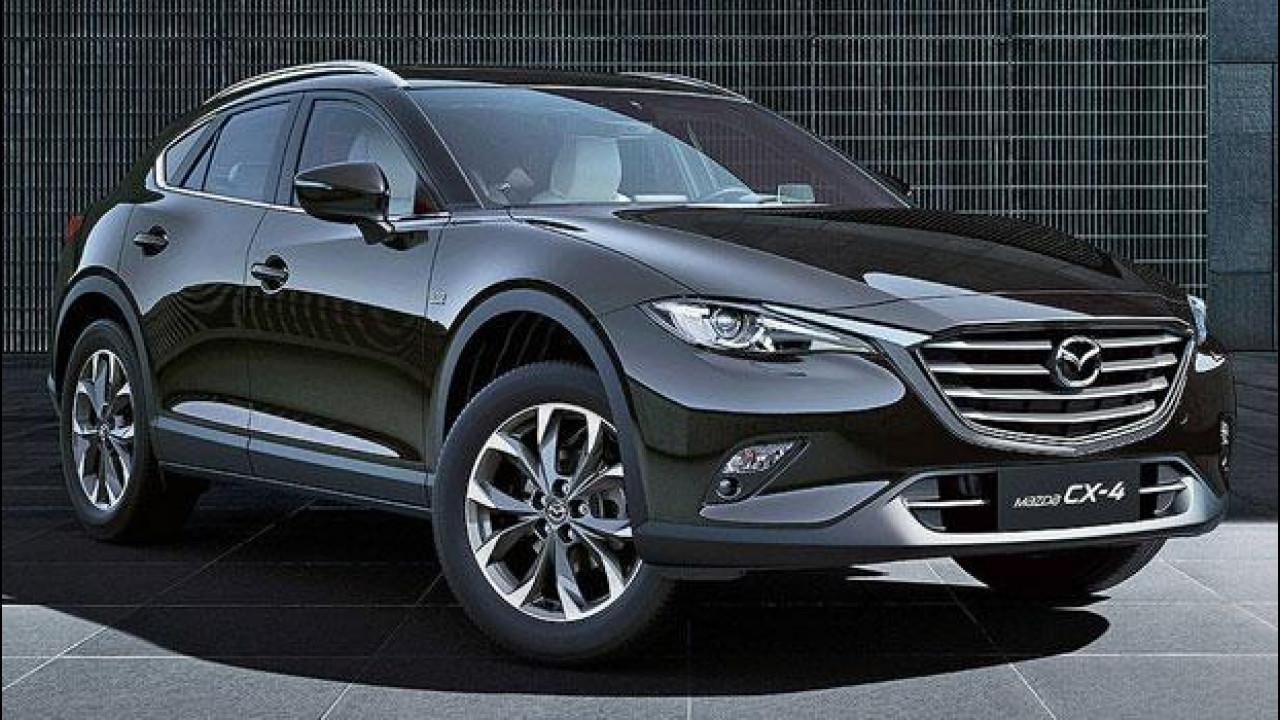 [Copertina] - Mazda CX-4, il SUV-coupé per i cinesi