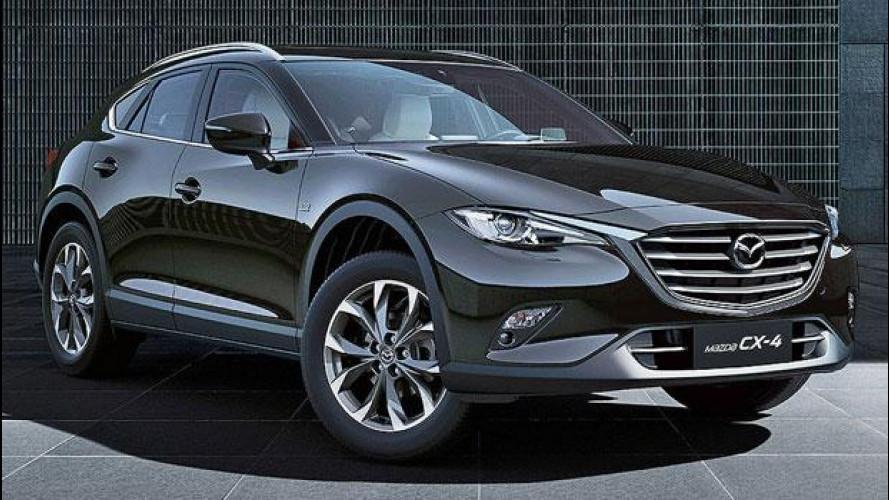 Mazda CX-4, il SUV-coupé per i cinesi