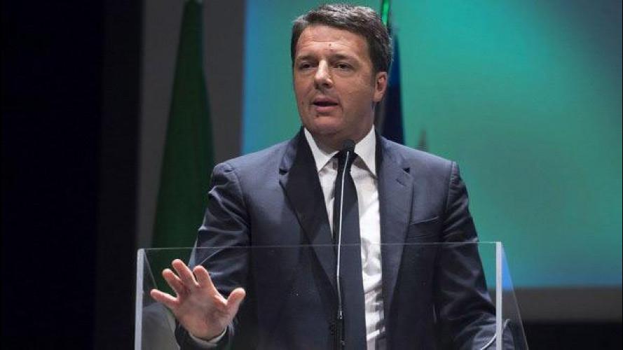 Auto elettrica, Renzi pronto a lanciare un piano da mezzo miliardo