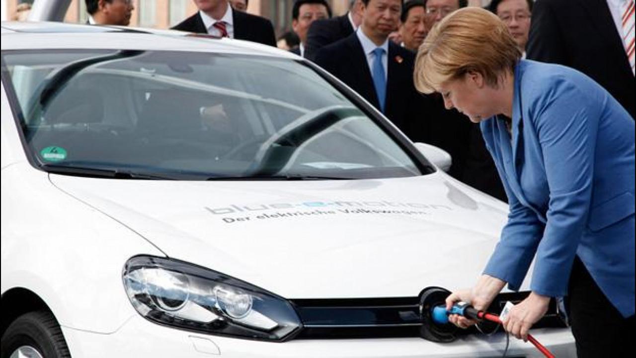 [Copertina] - Auto elettriche, in Germania incentivo statale di 4.000 euro