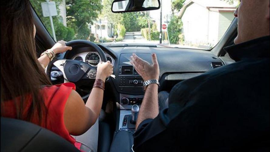 Lezioni di guida in cambio di sesso, in Olanda si può