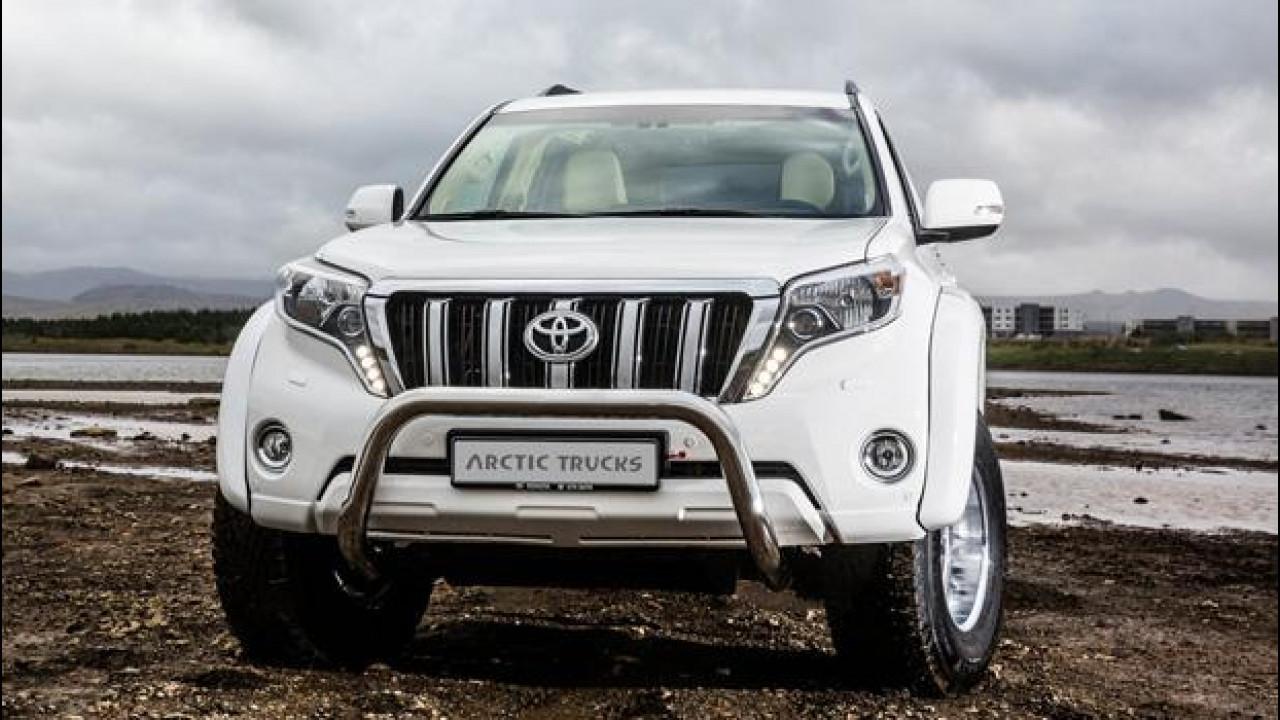 [Copertina] - Toyota Land Cruiser, Arctic Trucks li spinge al limite del Polo Nord