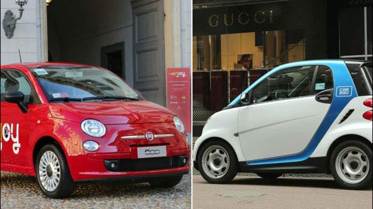 [Copertina] - Enjoy vs car2go, il car sharing di Milano a confronto